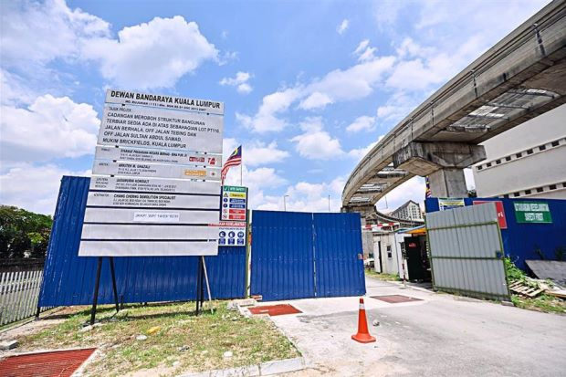 DBKL freezes projects