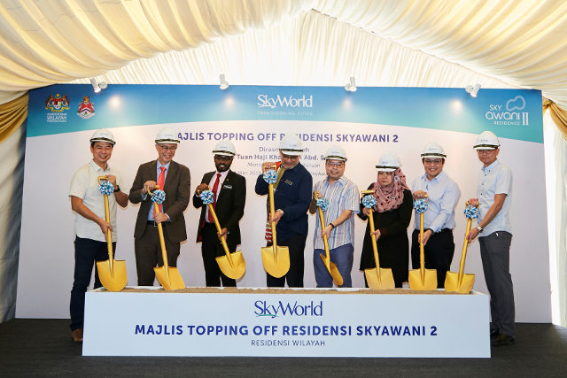 SkyAwani Topping-off Event