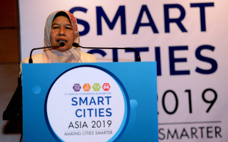 Minister Zuraida at Smart Cities Asia 2019 Conference