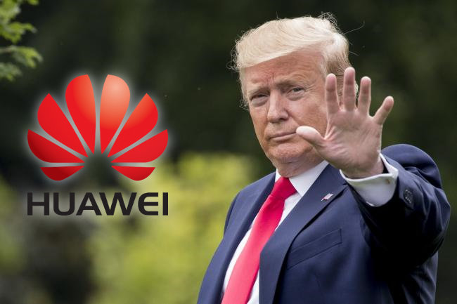 Donald Trump Bans Huawei